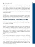 V. Laboratuvar Bulguları VI. Tedavi Tümör Nekrozis Faktör Reseptör