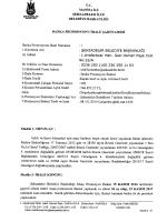MANİSA İLİ - Şehzadeler Belediyesi