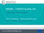 buradan - SEiSMiC Project