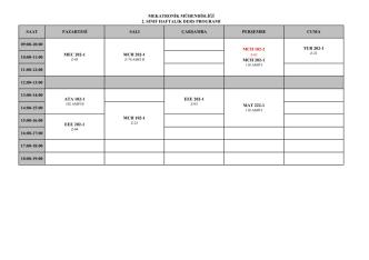 (M\334H. 2013-2014 BAHAR DERS PROGRAMI 17.02.xlsx)