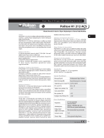 Politon H1 212 AÇS