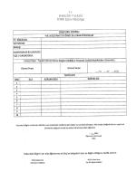 3) Müdür Yardımcısı olarak görevlendirilmeyenlerin başvuru formu