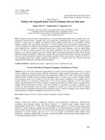 PDF - YYU Ziraat Fakültesi Tarım Bilimleri Dergisi