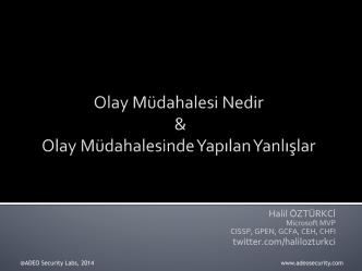 buradan - Halil ÖZTÜRKCİ