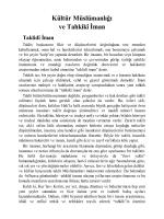 Kırık Testi-4 (Ümit Burcu)