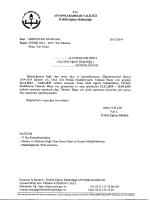 rlüğümüzün konu ile ilgili 26/12/2014 tarih ve 6981642 sayılı yazısı.