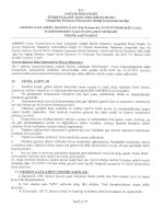 T.c. sAĞLIK BAKANLIĞI - Zonguldak Kamu Hastaneleri Birligi Genel