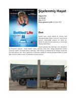 Şişelenmiş Hayat - Su Hakkı Kampanyası