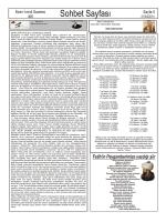 Sohbet Sayfası - İvrindi Gazetesi
