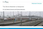 RoeVac® Tren Atıksu Tahliye Sistemleri