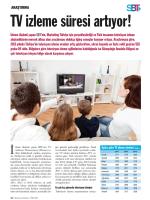 TV ızleme süresı artıyor!