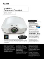 Full HD 3D Ev Sineması Projektörü