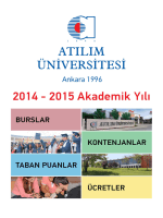ğ ._ .ATILIM . - Atılım Üniversitesi