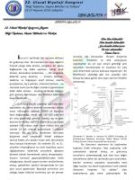 UBK-BÜLTEN 6 - 22.Ulusal Biyoloji Kongresi