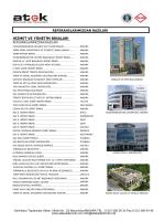 hizmet ve yönetim binaları