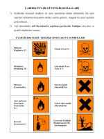 laboratuvar güvenlik kuralları