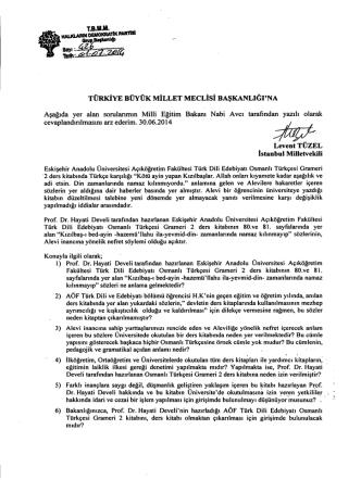 4 - Türkiye Büyük Millet Meclisi