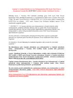 Anonim Ve Limited Şirketlerin Ana Sözleşmelerinin 6102 Sayılı Türk