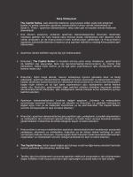 Satış Sözleşmesi The Capital Suites, web sitesinde listelenen veya