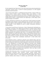 ORTAK AÇIKLAMA 11 Şubat 2014 İki lider bugün BM Genel
