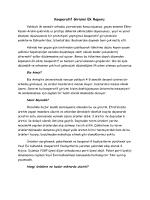 Kooperatif Girişimi Raporu