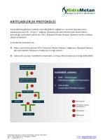 Arı labilirlik analizleri: BMP - 30/60 Analizi ( Biyokimyasal Metan