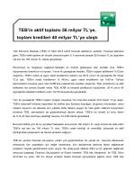 TEB 2014 ilk çeyrek karı 150 milyon TL oldu. Detaylı bilgi için tıklayın