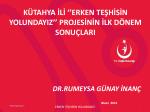 Dr. Rumeysa Günay İNANÇ