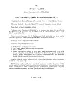 T.C. ANTALYA VALİLİĞİ Alanya Öğretmenevi ve A.S.O.Müdürlüğü