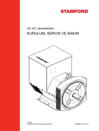 AVR - Cummins Generator Technologies