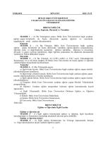 15.08.2011 SENATO 2011 /5-VI BİTLİS EREN ÜNİVERSİTESİ
