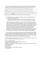 Hastane Hizmet Kalite Standartlarında (Tedavi Hizmetleri Genel
