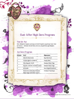 Full page photo - Ever After High