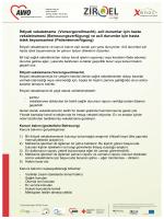 İhtiyati vekaletname (Vorsorgevollmacht), acil durumlar için hasta
