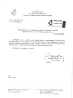 Ek: İlgili Yazı - Erzurum Ticaret ve Sanayi Odası