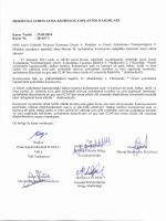 Mersin Valiliği Komisyon Kararları