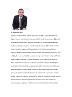 Dr. Barış ATA, M.C.T. İstanbul Tıp Fakültesinden 1998