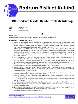BBK -Toplantı Tutanağı 11022014