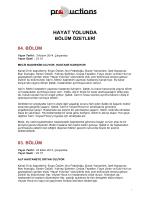 HAYAT YOLUNDA - D Productions