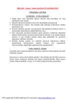 Treadmill - Gaziantep Üniversitesi