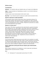 Rollover işlemi Tanımlamalar: Rollover – bir kontratın daha