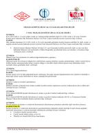 2014 ocak ayı meslek komitesi toplantı raporu
