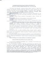 KAHRAMANMARAŞ HALK sAĞLıĞı MÜDÜRLÜĞÜ 2014/s. EK