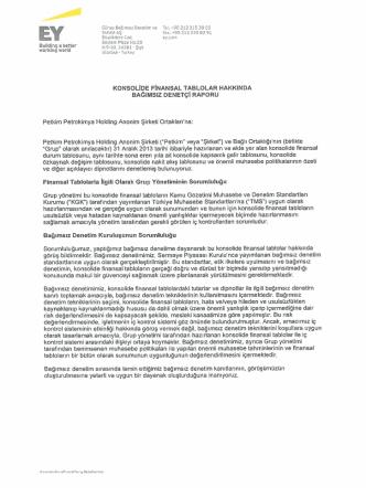 +90 212 315 30 00 - Petkim PetroKimya Holding A.Ş.