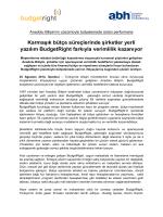 Anadolu Bilişim BudgetRight ile Bütçelemede Üstün Performans