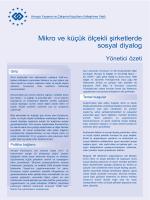 Mikro ve küçük ölçekli şirketlerde sosyal diyalog - Eurofound