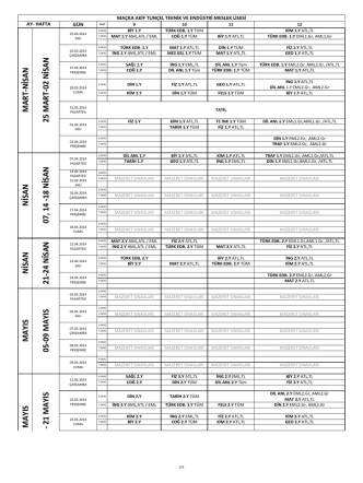 2013-2014_ortak-sınav-takvimi