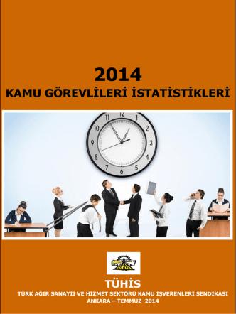 2014 Kamu Görevlileri İstatistikleri