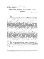 """6c"""": RETMENLiK UYGULAMASININ ANLAM VE"""