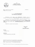 T.C. MERsıN vALıLıGı iı Mim Eğitim Müdürlüğü